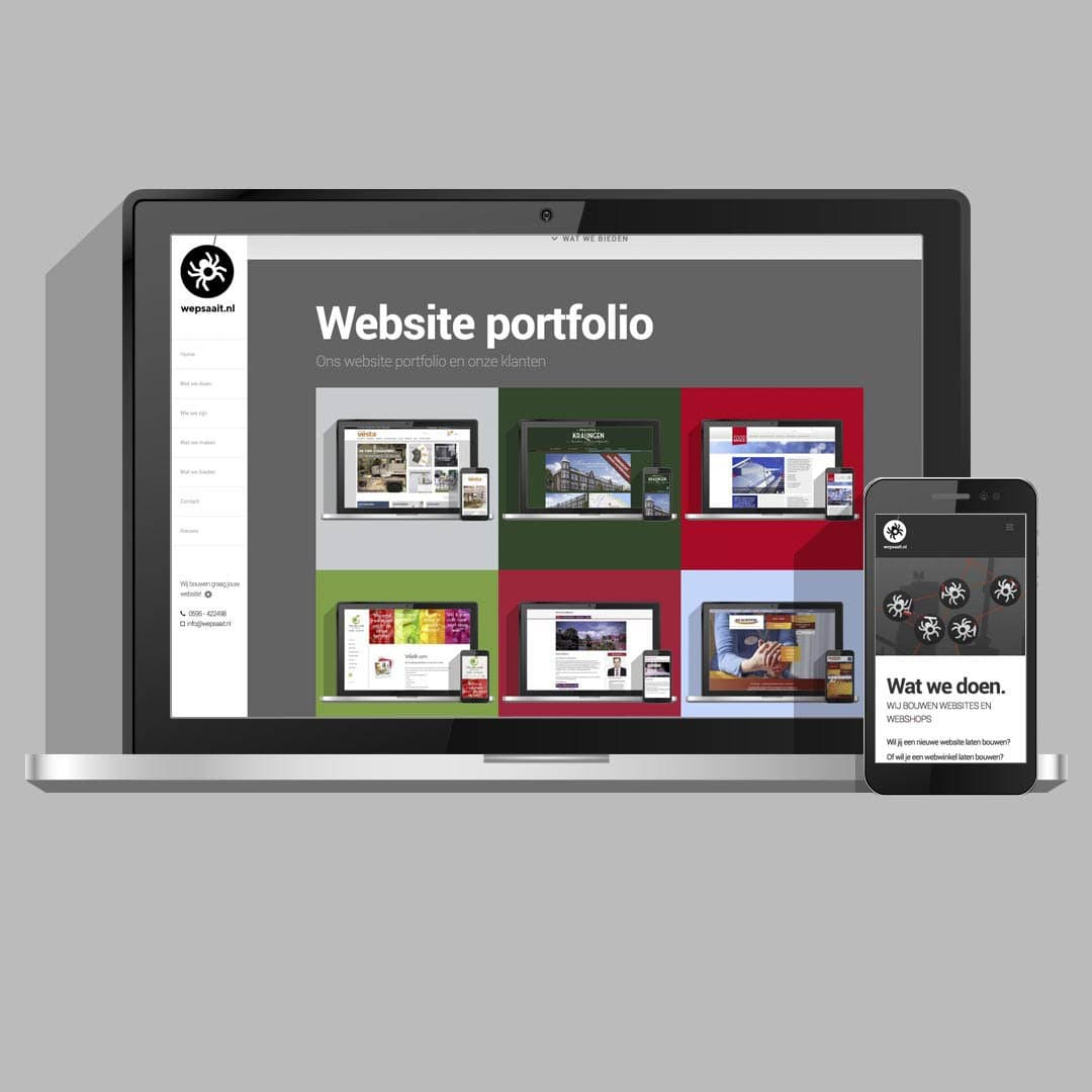 Wepsaait webdesign en website bouw