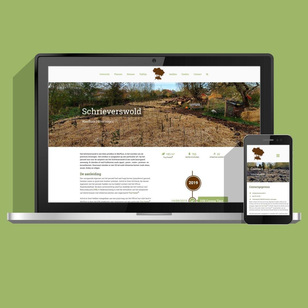 Non-profit website Schrieverswold